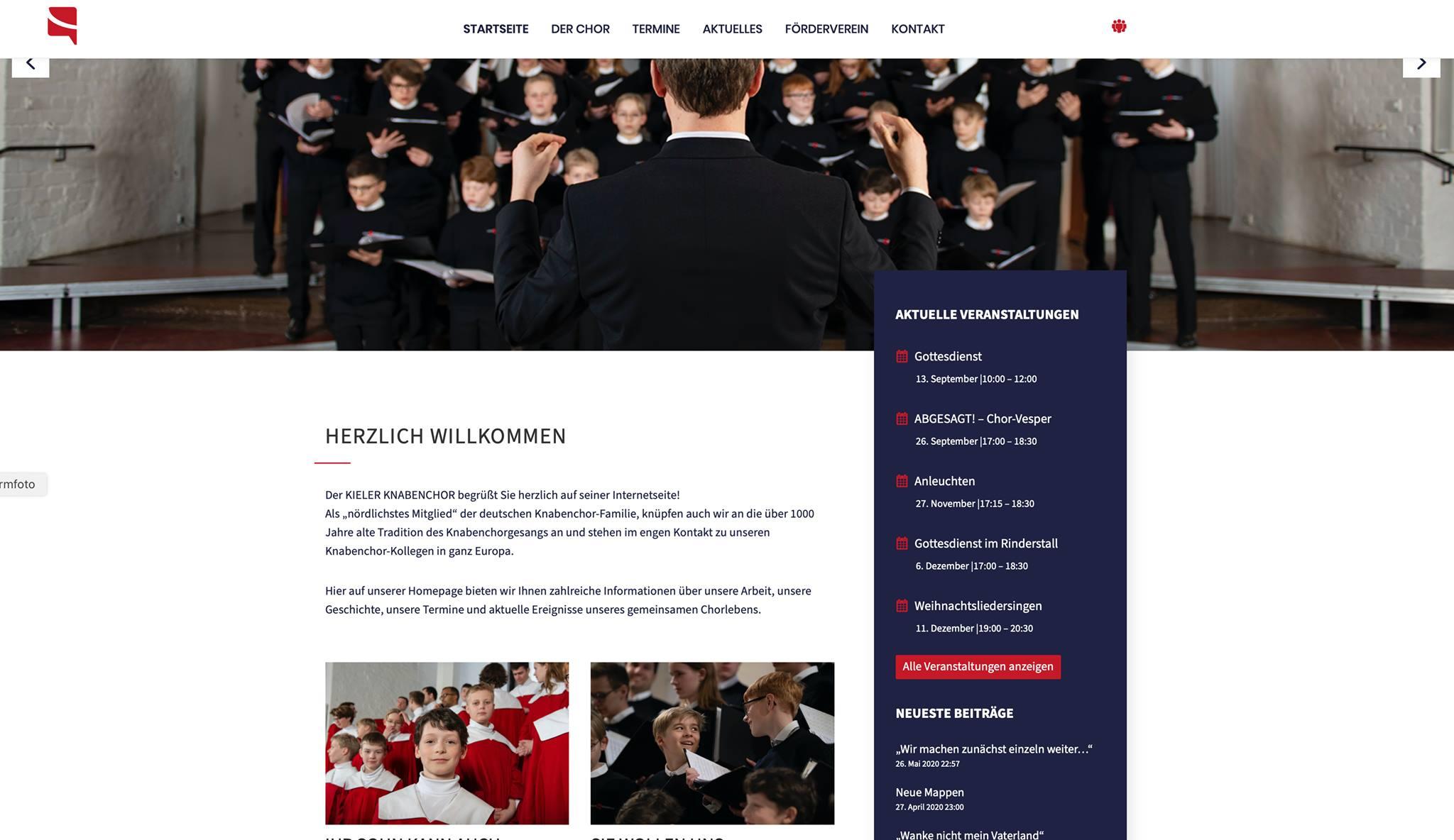 Die neue Homepage ist da!