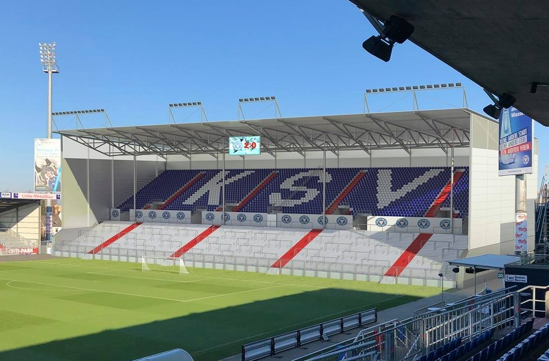 Holstein Kiel Stadion Ausbau